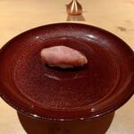 Nishimura Takahito la Cuisine creativite - 大間のマグロの握り