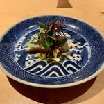 Nishimura Takahito la Cuisine creativite - 済州島産の鯖を使ったしめ鯖