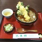 駅前芭蕉館 - 天ぷらそば ¥850