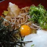 寿楽庵 - 蕎麦アップ