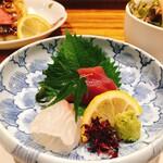 喜禄 - 鯛とマグロのお刺身