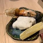 第三春美鮨 - 鬼柄焼き