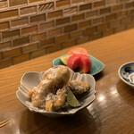 福島酒場 おお㐂 - 追加料理・松茸のフライ¥1200
