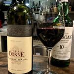 クインテット - グラス赤ワイン