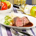 ラ ポスト - 牛フィレ肉200g厚切りステーキ