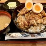 とりしん - キジ焼き丼650円