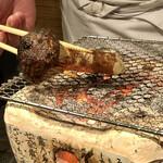 舞桜 - 松茸一本焼は料理長が自ら焼いてくれる