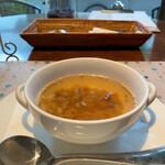 ギャラリーカフェ カンタン - 料理写真:スープ