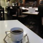 アザミ - ブレンドコーヒー・ストロング(デザートセット580円・単品350円) 12.01.31.