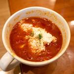 137683468 - トマトスープ&バターライス