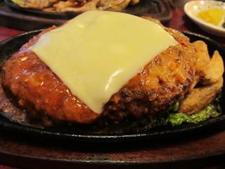 レストラン喫茶 タクト - チーズハンバーグ