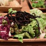 BiOcafe - サラダ1皿目