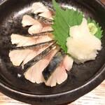 魚ト肴いとおかし - 京都へしこ ¥480