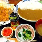 かつ亭 - ロースかつカレー定食❗️