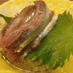 1377657 - いわし刺身:定食(松)の1品