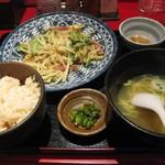 沖縄食堂 ちゃんぷる亭 - ゴーヤちゃんぷる定食