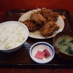 盛岡食堂 - から揚げ定食