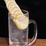 HIKE+B - 凍結レモンサワー 700円