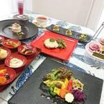 杉幸園 - 料理写真:10月のおまかせコースです。税込3500円です。ご予約お待ちしております。