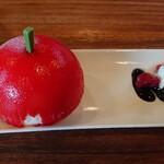 ハーベステラス - 真っ赤なりんごのケーキ。