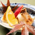 割烹 新 - 焼物 甘鯛の塩焼き
