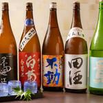 割烹 新 - 日本酒各種ございます