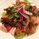 13771015 - 魚貝の冷製パスタ(前菜)