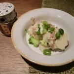 13771164 - 黒豚ナンコツのポテトサラダ