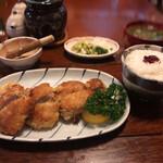 仁亭 - ヒレ焼きカツ定食