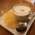 ふなわかふぇ - お芋のプリン(396円税込)。