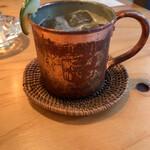 路地裏のShiki - ほうじ茶モスコミュール(ノンアルコール)