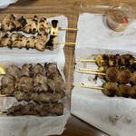 やきとり松 - 料理写真: