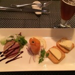 ホテルオークラ タバーン 柏 - シェフおまかせ3種の前菜盛り合わせ(2020.9.20)