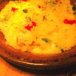 ロトブル イタリアン トーキョー - 鴨肉入り3種チーズドリア