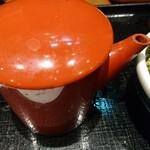 137736355 - 麺の煮え湯。