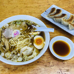 137739387 - ミニワンタン麺セット②(850円)