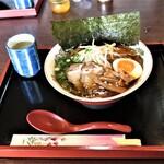 庵々 - 料理写真:醤油ラーメン 700円