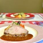 レストラン ニックス - 料理写真:ローストポーク
