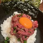 松島園 - ローストビーフ丼