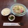 長崎飯店 - 料理写真:ちゃんぽんと小ライス('20/10/02)