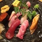 すし家 - 特上寿司です。