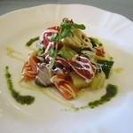 リストランテ カントゥ - 料理写真:明石のタコと野菜の冷菜