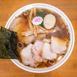 137755208 - 焼豚ワンタン麺味玉入り