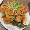 昆布森 - 料理写真:四川風からあげ 605円