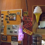 細岡ビジターズラウンジ - (平成22年8月)ソフトクリームの案内です。