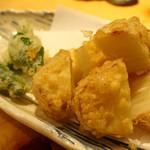 旨い料理・旨い酒 じょうじ - 新店:蓮根の天ぷらも絶品!