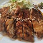 ぼて - 若鶏あみ焼き定食