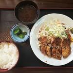 ぼて - 若鶏あみ焼き定食780円