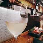 れだん - 白ワイン 400円