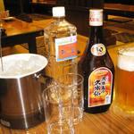 大衆居酒屋 和楽 - 久米仙ブラウン900
